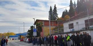Prosvjed građana na GP Metković