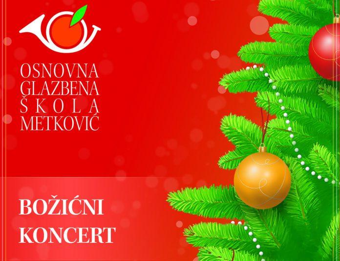Božićni koncert OGŠ Metković