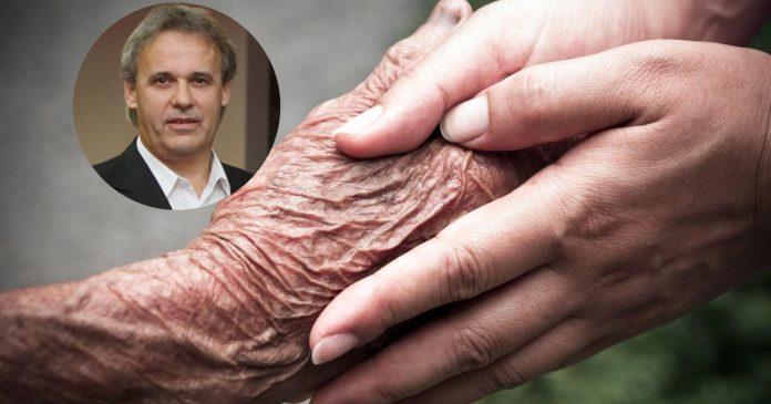 ruke, starost, Glasne misli, roditelj